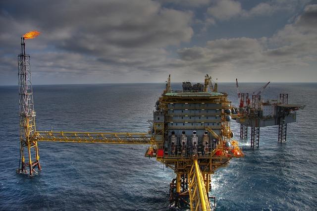 Exxon Mobile Oil Rig
